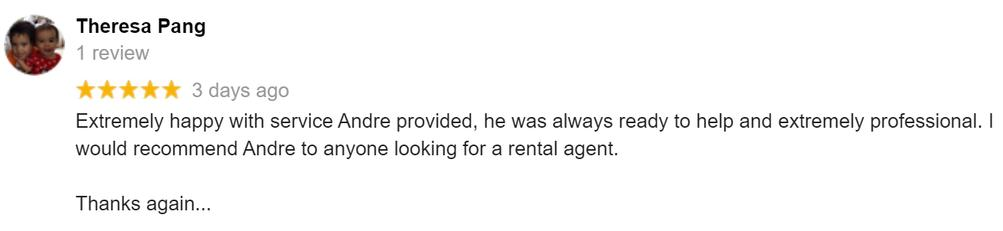 Property Managers Google Review